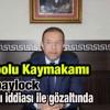 İMAMOĞLU Eski Kaymakamı Özdemir bylock tan Gözaltina Alındı