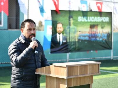 Sarçam Belediye Başkanı Bilal ULUDAĞ'dan Merhum Sporcuya Vefa